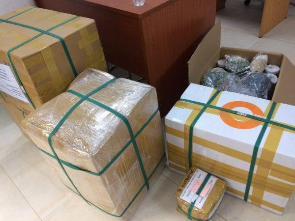 Vận chuyển hàng sang nước ngoài