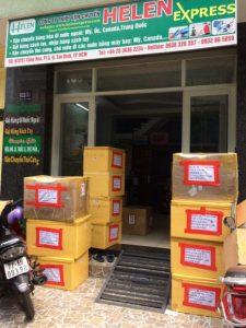 Gửi hàng đi Canada tại Hồ Chí Minh giá rẻ